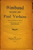 Rimbaud raconté par Paul Verlaine [1934]. Biblioteca