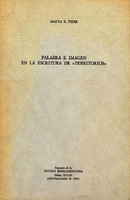 """Palabra e imagen en la escritura de """"Territorios"""" [1983]. Biblioteca"""
