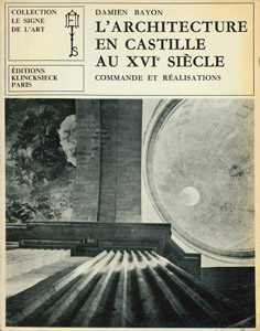 Cubierta de la obra : L' architecture en Castille au XVIe siècle