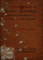 Le opere minori di Dante Alighieri [1911]. Biblioteca