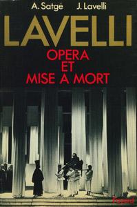 Cubierta de la obra : Lavelli