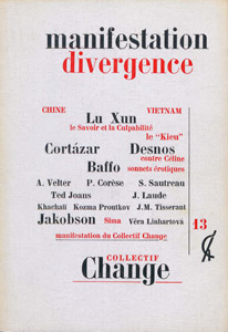 Front Cover : Change