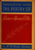 Translations from the poetry of Rainer Maria Rilke [1938]. Biblioteca