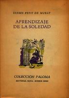 Aprendizaje de la soledad [1943]. Biblioteca