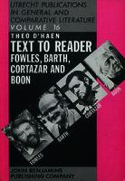 Ver ficha de la obra: Text to reader