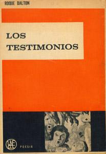 Cubierta de la obra : Los testimonios