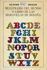 Front Cover : Muestrario del mundo o Libro de las maravillas de Bolona