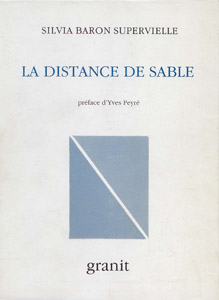 Front Cover : La distance de sable