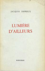 Front Cover : Lumière d'ailleurs