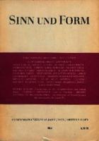 Ver ficha de la obra: Sinn und Form