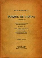 Bosque sin horas (poemas) [1937]. Biblioteca