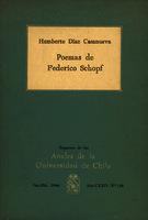 Poemas de Federico Schopf [1966]. Biblioteca