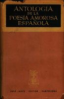 Antología de la poesía amorosa española [1948]. Biblioteca