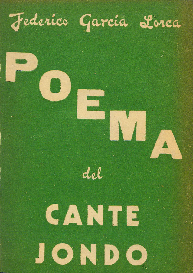 Ficha De La Obra Poema Del Cante Jondo Biblioteca Julio