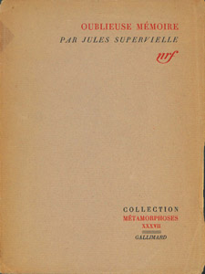 Front Cover : Oublieuse mémoire