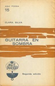 Cubierta de la obra :  Guitarra en sombra