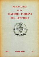 Boletín de la Academia Porteña del Lunfardo [1966]. Biblioteca