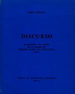 Discurso pronunciado con ocasión de la entrega del Premio Nobel de Literatura (1971) [1972]. Biblioteca