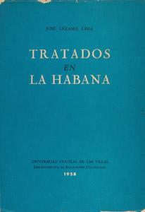 Cubierta de la obra : Tratados en La Habana