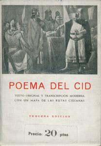 Cubierta de la obra : Poema del Cid