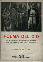 Poema del Cid []. Biblioteca