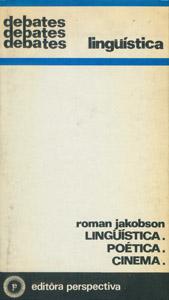 Front Cover : Lingüística, Poética, Cinema