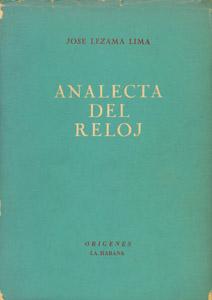 Front Cover : Analecta del reloj