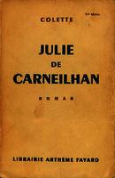 Julie de Carneilhan roman [1941]. Biblioteca