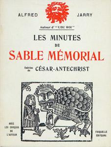 Front Cover : Les minutes de Sable mémorial ; suivies de César-Antéchrist