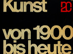 Kunst von 1900 bis heute Eröffnungausstellung [1962]. Biblioteca