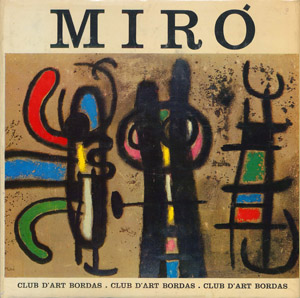 Front Cover : Joan Miró