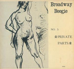 Cubierta de la obra :  Broadway Boogie