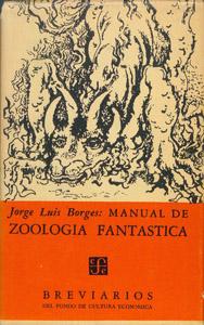 Cubierta de la obra : Manual de zoología fantástica