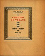 Canciones de verano [1950]. Biblioteca
