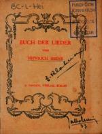 Buch der Lieder [1902]. Biblioteca