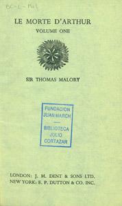Front Cover : Le morte d'Arthur