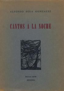 Front Cover : Cantos a la noche