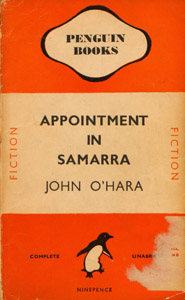 Front Cover : Appointment in Samarra