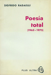 Front Cover : Poesía total, 1965-1975
