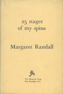 Front Cover : 25 stages of my spine