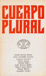 Front Cover : Cuerpo plural