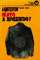 ¿Quién mató a Rosendo? [1969]. Biblioteca