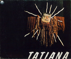 Cubierta de la obra : Tatiana