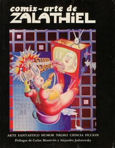 Front Cover : Comix-arte de Zalathiel