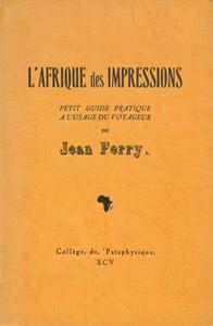 Front Cover : L' Afrique des impressions
