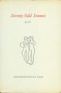 Front Cover : Seventy odd sonnets