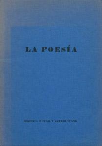 Front Cover : La poesía