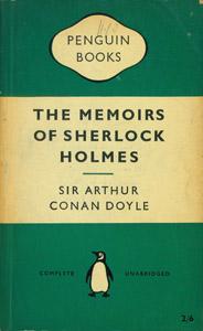 Cubierta de la obra : The memoirs of Sherlock Holmes