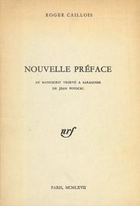 Cubierta de la obra : Nouvelle préface : [destin d'un homme et d'un livre : le comte Jean Potocki et le manuscrit trouvé à Saragosse]