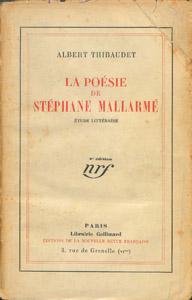 Front Cover : La poésie de Stéphane Mallarmé